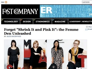 Separate. And Equal-Femme Den | Fast Company (20090918)